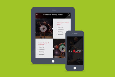 Evolve Basketball App